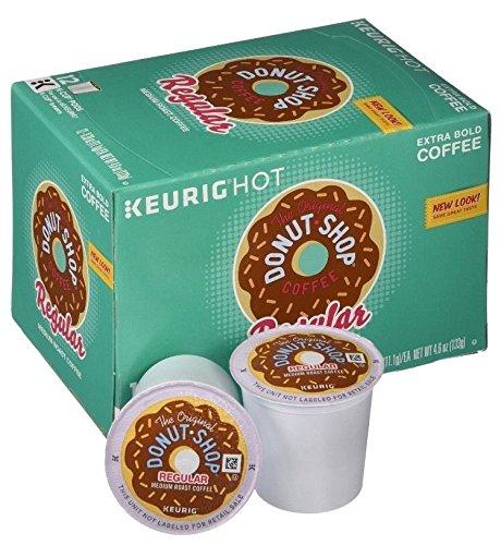 The Original Donut Shop Regular, Keurig Single-Serve K-Cup Pods, Medium Roast Coffee, 12 Count