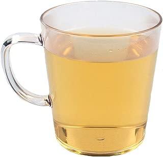 Unbreakable Plastic Glasses-Pack of 4, 12 oz, Dishwasher Safe, BPA Free, Beer Glasses, Clear Plastic Mug, Unbreakable Plastic Drinking Glasses, Drinking Glasses, Toothbrush Glass, Halloween Glasses