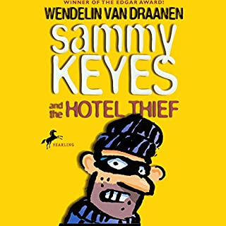 Sammy Keyes and the Hotel Thief audiobook cover art