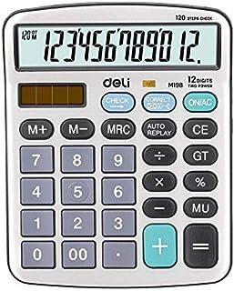 ديلي إي إم19810 آلة حاسبة 12 رقم معدنية