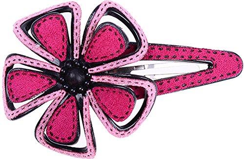 Unbekannt Süße Flower Blüten Blumen Haarspange Rockabilly Haarschmuck Retro 50s - Pink