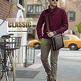 Zoom IMG-1 borsello uomo pelle con portafoglio