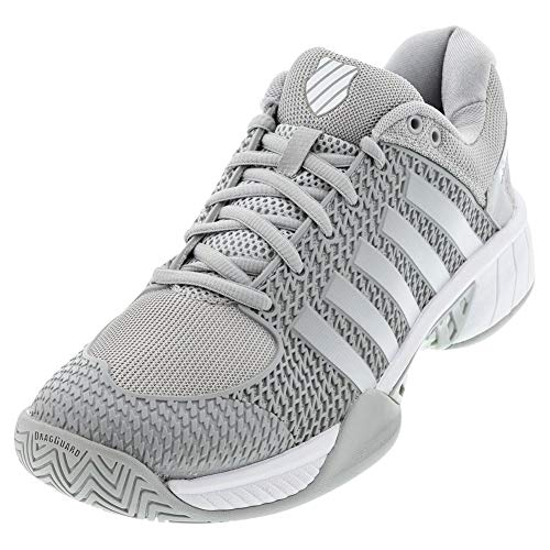 K-Swiss Women's Express Light Pickleball Shoe (Highrise/White, 7.5) Delaware