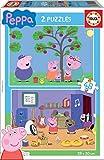Educa Peppa Pig 2 Puzzles de 48 Piezas, multicolor (15920)
