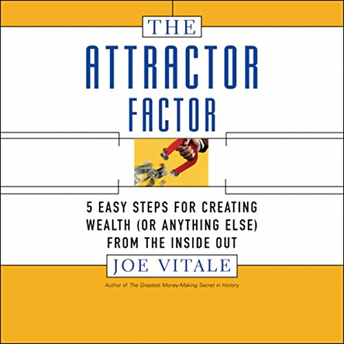 The Attractor Factor audiobook cover art