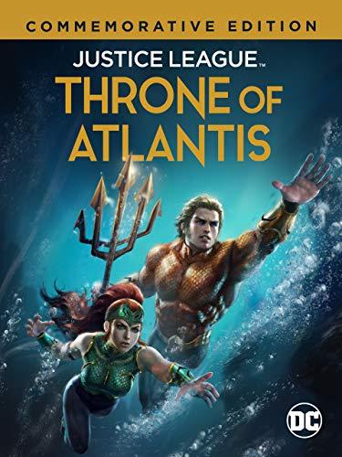 Justice League: Throne of Atlantis (Commemorative Edition)