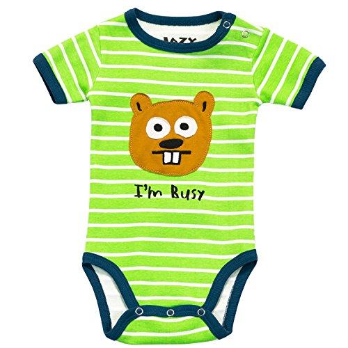 LazyOne Garçon I'm Busy Body Bebe Vest 6 Months