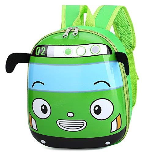 HUANGH Cute backpacks Girls bags for kids Cartoon cute car backpack children schoolbag Children's birthday gift new year gift C