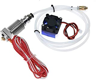 Twotrees J-Head V6 Hot End Full Kit 1.75mm 12V RepRap 3D Printer Extruder Parts Accessories 0.4mm Nozzle