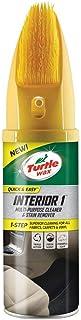 Turtle Wax 51791 Interior 1 Multi Purpose Spray De Limpieza para Asientos De Automóviles para Eliminar Manchas Y Olores con Un Cepillo 400Ml