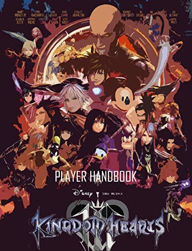 Kingdom Hearts III GAME HANDBOOK (English Edition)