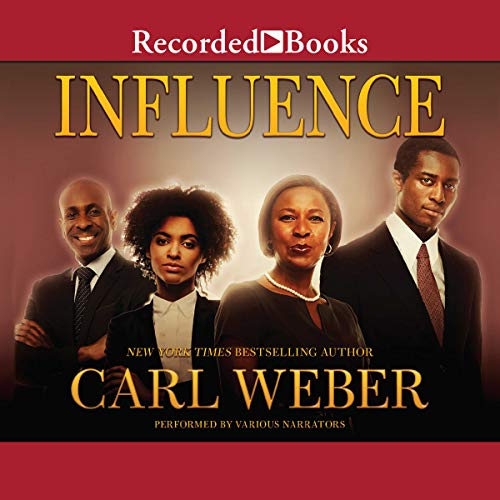 Influence audiobook cover art