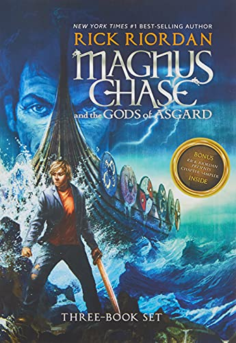 Magnus Chase and the Gods of Asgard Paperback Boxed Set