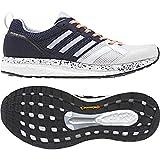 Adidas Adizero Tempo 9 W, Zapatillas de Trail Running para Mujer, Blanco (Ftwbla/Aeroaz/Negbas 000), 38 EU