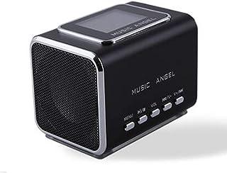 Music Angel JH-MD05X LCD Radio FM portátil Altavoces para