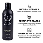 Zeus Men's Everyday Beard Grooming Kit – Daily Beard Care, Top Quality Beard Shampoo & Conditioner, Beard Oil & Balm… 3