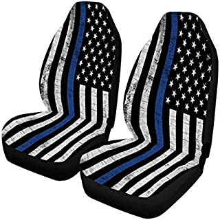 police seat covers