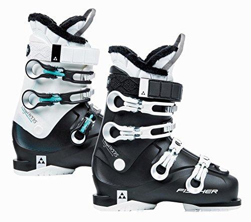 Fischer Unisex - skischoenen voor volwassenen Cruzar W X7.5 Thermoshape Flex 75 skistlaarzen model 2018, Maat: MP24.0 EU37.5, Kleur: wit/zwart, wit, 24.0