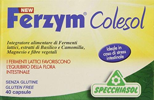 Specchiasol Ferzym Colesol New, 40 Capsule