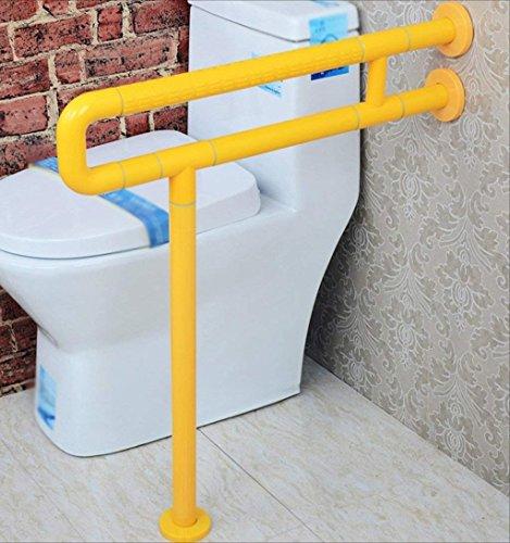 WYJW badkamer fauteuil wastafel badkamer leuning leuning oude man Handicapped (kleur: Geel, Hoogte: 60cm)