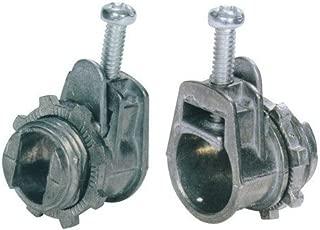 Morris Products 15060 Flex Saddle Box Connector, for AC MC and Flex Conduit, Zinc Die Cast, 3/8