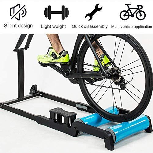 SLRMKK Bicicleta Turbo Trainer, Xcmenl Bike Trainer Stand Estación de Ejercicios Plegable...