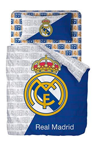 Real Madrid Juego De Sabanas de 3 Piezas Cama 90 (160x270 + 90x200/25 + 45x110) RM 194002
