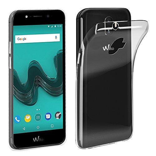 ebestStar - kompatibel mit Wiko Wim Hülle Handyhülle [Ultra Dünn], Premium Durchsichtige Klar TPU Schutzhülle, Soft Flex Silikon, Transparent [Phone: 156.2 x 75.3 x 7.9mm, 5.5'']