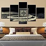 IGNIUBI Leinwand HD-Druck Gemälde für Wohnzimmer Dekor