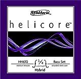 Helicore Hybrid ヘリコアハイブリッド コントラバス弦 セット