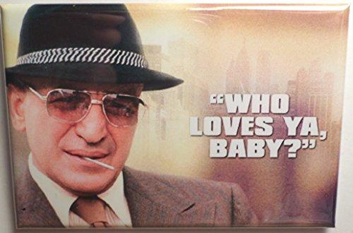 "Kojak MAGNET 2"" x 3"" Refrigerator Locker Television Who Loves Ya Baby"