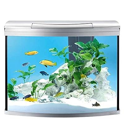 Tetra AquaArt Discovery Line LED Aquarium-Komplett-Set (inklusive LED-Beleuchtung, Tag- und Nachtlichtschaltung, EasyCrystal Innenfilter und Aquarienheizer, ideal für Zierfische), verschiedene Größen und Farben