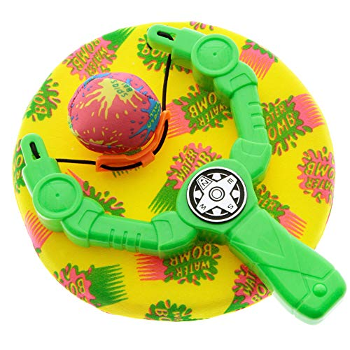 Spiel AG Splash Ball Wasserbombe mit Wasserbombenschleuder Frisbee für Pool