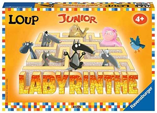 Ravensburger- Labyrinthe Junior Loup Jeu Enfant, 4005556205301
