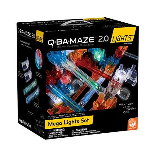 MindWare Q-BA-Maze 2.0 Lights: (Mega Set)