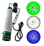 Green Blob Outdoors Fishing Light, Green Underwater Dock LED Fish Attractor, New Powerful 16,742 Lumen, 30Ft Cord with 3 Prong Plug. Bass, Crappie, Tarpon, Snook, Shad,