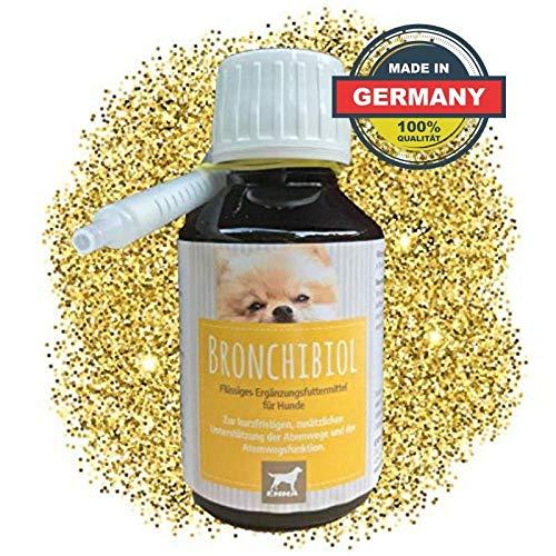 EMMA® Hoestsiroop voor honden I Bronchiale druppels met tijm I Bronchiale kruiden I Kruiden voor de luchtwegen | Hoest bij honden I 100ml