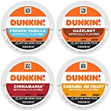 Dunkin' Mixed Flavor Coffee Variety Pack, 60 Keurig K-Cup Pods (Packaging May Vary)