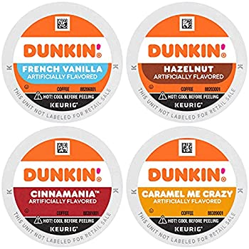 Dunkin  Mixed Flavor Coffee Variety Pack 60 Keurig K-Cup Pods  Packaging May Vary