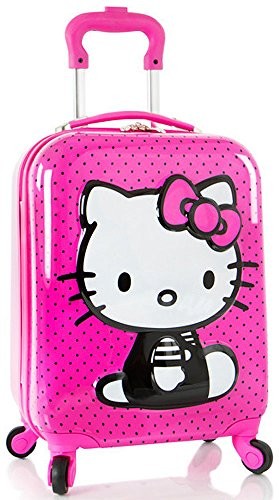 Luggage Hello Kitty 3D Spinner Carry On 4 Wheeled