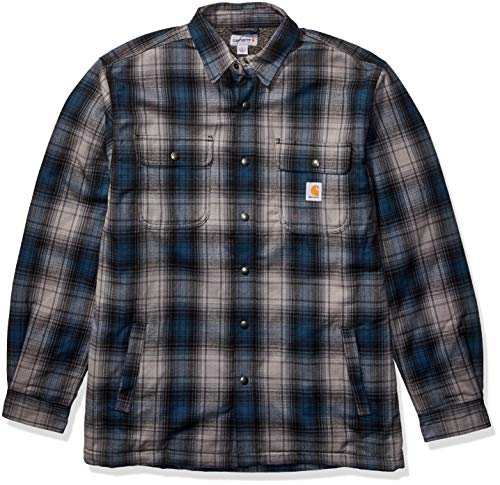 Carhartt Herren Hubbard Sherpa Lined Jac Shirt Jacket, Twilight, XXL