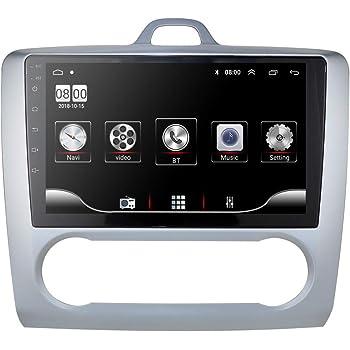 CAMECHO Android Car Radio para Ford GPS Pantalla táctil capacitiva ...