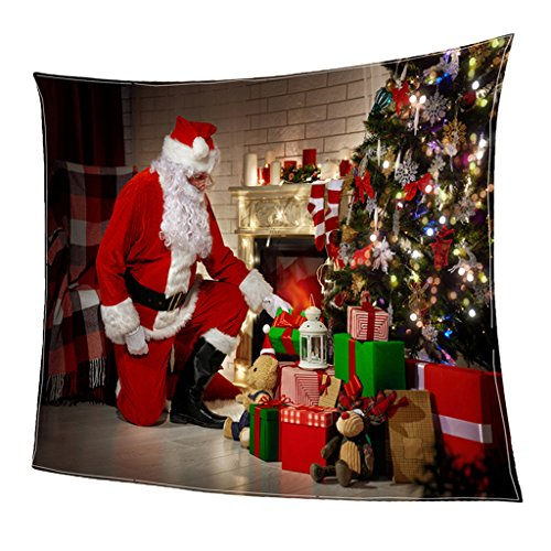 LOVIVER Cobertor De Natal Flanela De Camada Dupla Feita - 16#