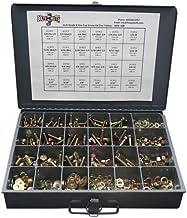 Grade 8 Hex Cap Bolts Screws, Nuts, Washers, Lock Washers Assortment Kit - 574 Pieces!