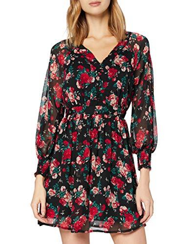 Vila Vibrookly L/S klänning/Dc/Su klänning