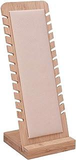 PandaHall 12 Emplacements Présentoir de Bijoux de Collier Panneaux d'affichage de Table Support de Vitrine de Collier avec...