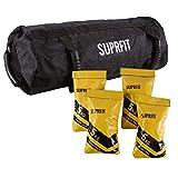 Suprfit Sandbag | Power Bag | Core Bag | Gewichtssack | inkl. Sieben befüllbarer Gewichtsbeutel |...