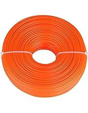 2.4mm Trimmer Lijn Nylon Koord Draad Ronde String Benzine Grastrimmer Voor Grasmaaier Maaien Touw Maaien Lijn 50 M / 100 M / 150 M (50 M)(2-100 meter)
