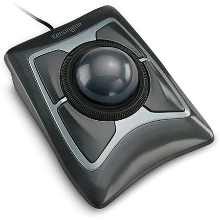 Kensinton 64325 Ratón Expert, Ratón con Cable y Trackball Compacto y Ergonómico, para Mac y Windows, con Anillo de Desplazamiento, Diseño Ambidiestro ...