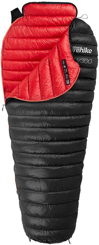AUNLPB Camping Schlafsack, tragbarer Leichter Schlafsack mit Rechteck oder Rucksack für Erwachsene, Kinder, Mdchen und Jungen,C